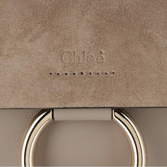 クロエCHLOE2019年秋冬新作ショルダーバッグFAYEフェイスモールブレスレットバッググレー系CHC17WS3202O23W