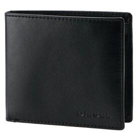 ディーゼル DIESEL 2020年秋冬新作 メンズ 財布 二つ折り HIRESH S RONZO ブラック X06751 PR013 T8013