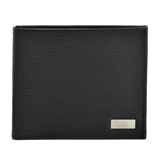 フェラガモ FERRAGAMO 財布 NEW REVIVAL メンズ 二つ折り財布 669964 0007 0010