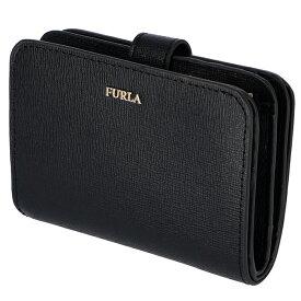 フルラ FURLA 財布 二つ折り 二つ折り財布 バビロン BABYLON S ブラック PBF8 B30 O60
