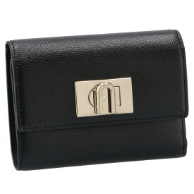 フルラ FURLA 財布 三つ折り FURLA 1927 バイフォールド ウォレット ブラック PCW4ACO ARE000 O6000【21WS】
