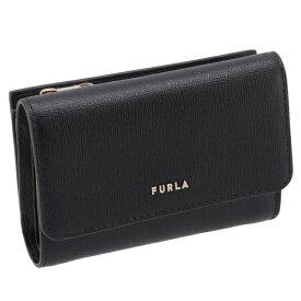 フルラ FURLA 財布 三つ折り財布 バビロン BABYLON トライフォールドウォレット ブラック PCZ0UNO B30000 O6000【21WS】