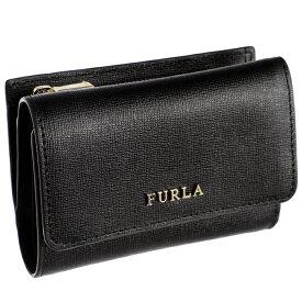 フルラ FURLA babylon ミニ財布 バビロン 三つ折り財布 ブラック PR76 B30 O60
