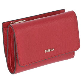 フルラ FURLA babylon ミニ財布 バビロン 三つ折り財布 レッド系 PR76 B30 RUB