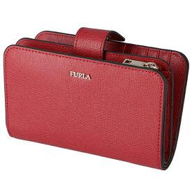 フルラ FURLA PR85 ミニ財布 BABYLON 財布 バビロン 二つ折り財布 レッド系 PR85 B30 RUB