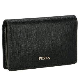 フルラ FURLA BABYLON 二つ折り カードケース 名刺入れ ブラック PS04 B30 O60