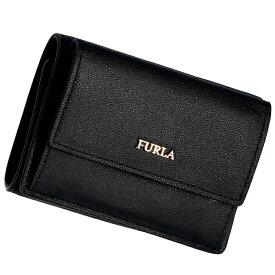 フルラ FURLA 2019年春夏新作 財布 三つ折り財布 ミニ財布 バビロン BABYLON ブラック PZ12 E35 O60