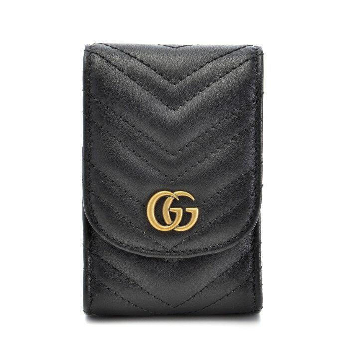 グッチ GUCCI シガレットケース マーモント シガレットケース Gg Marmont 2.0 シガレットケース ブラック 476431 DRW1T 1000