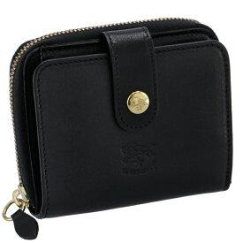 イルビゾンテ IL BISONTE財布 二つ折り コンパクト 小銭入れ付き ミニ財布 レディース メンズ ユニセックス ブラック C0960 P 153