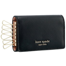 ケイトスペード KATE SPADE キーケース スペンサー SPENCER サフィアーノ ブラック PWRU7921 0007 001