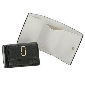 マークジェイコブス MARC JACOBS 財布 三つ折り ミニ財布 スナップショット SNAPSHOT ブラックマルチ M0014492 0032 002