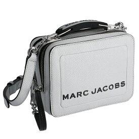 マークジェイコブス MARC JACOBS 2019年秋冬新作 ショルダーバッグ THE BOX 20 ザ テクスチャード ボックス 20 グレー系 M0014840 0004 079