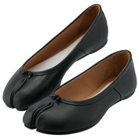 メゾン マルジェラ MAISON MARGIELA Tabi タビ 足袋 バレエシューズ フラットシューズ レディース 靴 ブラック S58WZ0042 PR516 T8013
