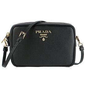 プラダ PRADA サフィアーノ バッグ 斜めがけ ショルダーバッグ ブラック 1BH036OOO NZV 002