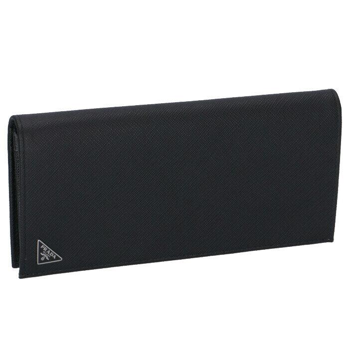 プラダ PRADA 2018年秋冬新作 財布 型押しカーフスキン メンズ 二つ折り長財布 2MV836 QHH 002