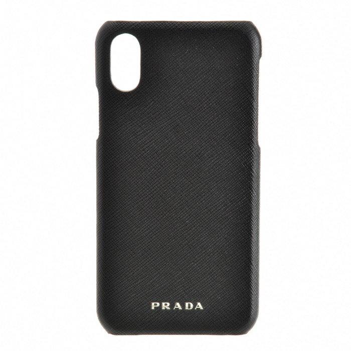 プラダ PRADA 2018年秋冬新作 iphoneケース アイフォンケース スマホケース メンズ iPhoneXケース ブラック 2ZH058 2AHF 002