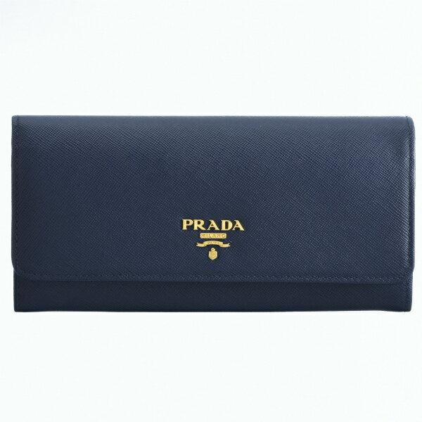 プラダ PRADA 財布 型押しカーフスキン 二つ折り長財布 1MH132 QWA 016
