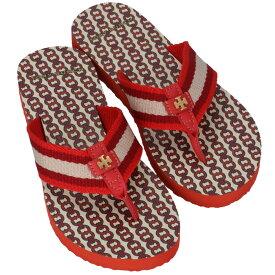 トリーバーチ TORY BURCH ビーチサンダル GEMINI LINK FLIP FLOP シューズ 靴 レッド系 61715 0061 622【06-SS】