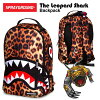 Spray ground the レオパードシャークバックパック (SPRAY GROUND THE LEOPARD SHARK BACKPACK rucksack)