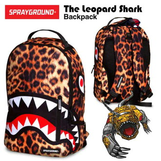 Spray ground the Leopard shark backpack (SPRAY GROUND THE LEOPARD SHARK BACKPACK rucksack)