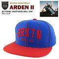 ブリクストンアーデンII6パネルスナップバックボールキャップブルー/レッド(BrixtonARDEN2SIXPANELSNAP-BACKBALLCAP)[9月上旬入荷]