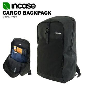界内情况货物背包黑色/黑色CL55542(INCASE CARGO BACKPACK背包日包·帆布背包15英寸笔记本电脑、MACBOOK收藏可)