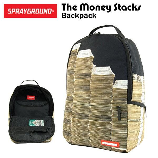 スプレイグラウンド ザ・マネー スタックス バックパック (SPRAY GROUND The Money Stacks BACKPACK リュックサック B032)