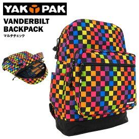 ヤックパック ヴァンダービルト バックパック マルチチェック (YAKPAK VANDERBILT BACKPACK リュック)