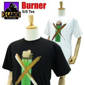 エクストララージ バーナー S/S Tシャツ (X-LARGE BURNER S/S TEE メンズ 男性用 ティーシャツ 半袖) 【あす楽対応】【楽ギフ_包装】【あす楽_土曜営業】