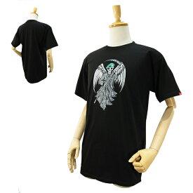 バンズ デス フロム アバーヴ S/S Tシャツ ブラック (VANS DEATH FROM ABOVE S/S Tee) [USA 直輸入モデル] 【あす楽対応】【楽ギフ_包装】【あす楽_土曜営業】