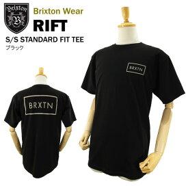ブリクストン リフト S/S スタンダード フィット Tシャツ ブラック ラスト:Sサイズ (Brixton RIFT S/S STANDARD FIT TEE) 【あす楽対応】【楽ギフ_包装】【あす楽_土曜営業】