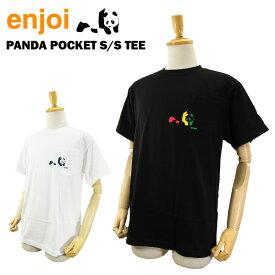 [絶版モデル・デットストック] エンジョイ パンダ ポケット S/S Tシャツ スケート スケーターウエアー (enjoi PANDA POCKET S/S Tee)