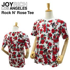 ジョイ リッチ ロックンローズ Tシャツ ホワイト (JOY RICH ROCKN'ROSE TEE 男性用 女性用 メンズ レディース ユニセックス ジョイリッチ) 【あす楽対応】【楽ギフ_包装】【あす楽_土曜営業】