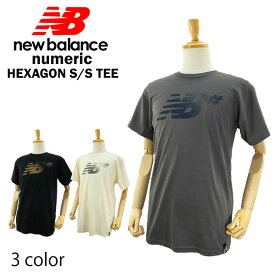 ニューバランス ヘキサゴン S/S Tシャツ ヌメリック スケート スケーター (NEW BALANCE HEXAGON S/S TEE NUMERIC)