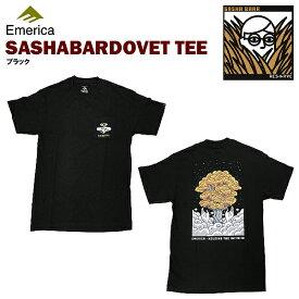 エメリカ SASHA BARR DOVE S/S Tシャツ ブラック スケート スケーターウエアー (Emerica SASHA BARR DOVE S/S TEE) 【あす楽対応】【楽ギフ_包装】【あす楽_土曜営業】