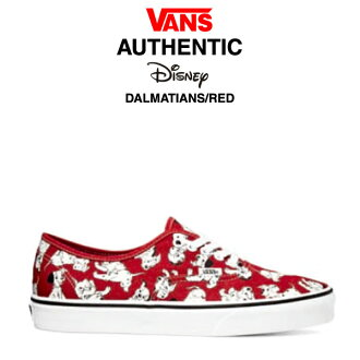 Vans authentic Disney Dalmatians (VANS AUTHENTIC DISNEY DALMATIANS 101 Dalmatians-Chan Sneakers Shoes) [Oct-mid in stock]