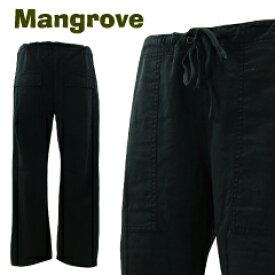 マングローブ 4ポケット イージーパンツ ブラック (MANGROVE ベイカーパンツ パティーグ) 【あす楽対応】【楽ギフ_包装】【あす楽_土曜営業】
