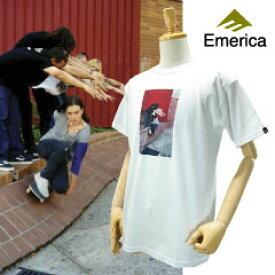 エメリカ スー チューブ S/S Tシャツ ホワイト スケート スケーターウエア (Emerica HSU TUBE S/S Tee) 【あす楽対応】【楽ギフ_包装】【あす楽_土曜営業】