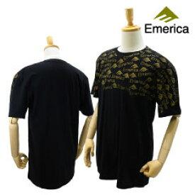 エメリカ ウエイステッド メンズ S/S スリム Tシャツ ブラック/XLサイズ スケート スケーターウエア (Emerica WASTED MENS S/S SLIM Tee) 【あす楽対応】【楽ギフ_包装】【あす楽_土曜営業】
