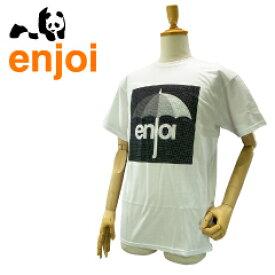 エンジョイ オーバーキャスト S/S Tシャツ ホワイト スケート スケーターウエアー (enjoi OVERCAST S/S Tee) 【あす楽対応】【楽ギフ_包装】【あす楽_土曜営業】