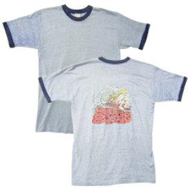 Vintage Tee 60's TOWN CRAFT タウンクラフト リンガーネックTシャツ size L 【あす楽対応】【楽ギフ_包装】【あす楽_土曜営業】【古着】【海外直輸入USED品】