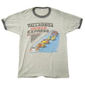 Vintage Tee 80's リンガーネックTシャツ size -(L) 【あす楽対応】【楽ギフ_包装】【あす楽_土曜営業】【古着】【海外直輸入USED品】