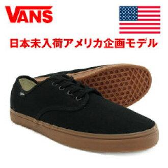 99ae4bd9ac4 amb   Japanese non-arrival model  vans Madero black   gum (VANS MADERO)