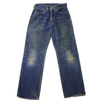 Vintage LEVI'S 503BXX W28L28.5(实际上的寸W70cm×L71cm)(李维斯501原始物牛仔裤旧衣服双X复古复古粗斜纹布)