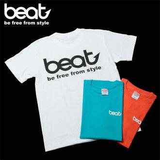"BEAT ""BEAT"" cotton T shirt slow jigging"