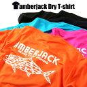 アンバージャックオリジナル速乾 Tシャツ全5色ドライ Tシャツ オレンジ ピンク ブルー ネイビー ブラック【あす楽】