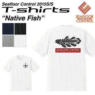 바다 바닥 컨트롤 중량 T 셔츠 Native Fish 네이티브 피쉬 T-shirts SEAFLOOR CONTROL