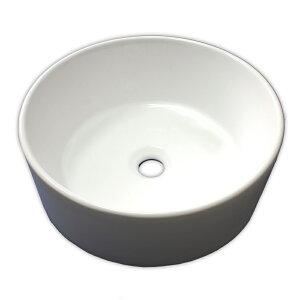 【送料無料】白陶器製デザイン丸型手洗器カウンター洗面台洗面器ボウル Ambest SL35S0 オーバーフロー無し 洗面ボール 手洗い鉢 洗面ボウル 洗面化粧台 洗面シンク 洗面台 リフォーム 和風 洋