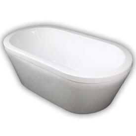 150ジョブズ人造大理石ダブルアクリル置き型浴槽風呂バスタブ湯船 Ambest BA1104 浴槽 風呂 バスタブ 排水込む 排水パイプ 簡単取付 据置タイプ エプロンなし 洋式 アンティーク風 お湯保温 入浴 和洋折衷 大型犬用バス