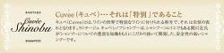 美容室専用ランテージュキュベシノブシャンプー400ml紹介2